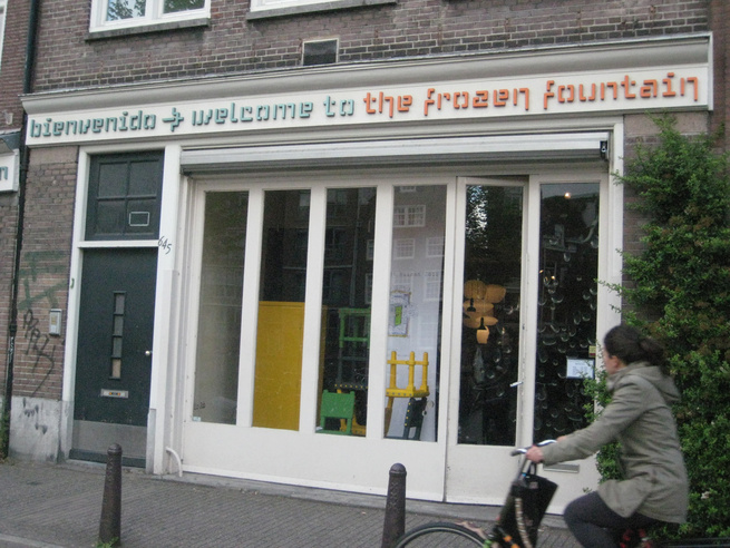 "Welcome to the <a href=""http://www.dwell.com/articles/the-frozen-fountain.html"">Frozen Fountain</a>! Situated in a sweet spot on the Prinsengracht ('Prince's Canal), this <a href=""http://www.frozenfountain.nl/"">shop</a> is absolutely a must-visit. It's a"