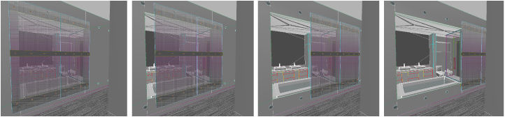 S.L.E.D. DOOR<br /><br /> Submitted by: Name not provided<br /><br /> (Sliding L.E.D. Elevated Door) <br /><br /> Designer's Description: <br /><br />This sliding glass partition wall serves two purposes. The first is to act as a visual separator between