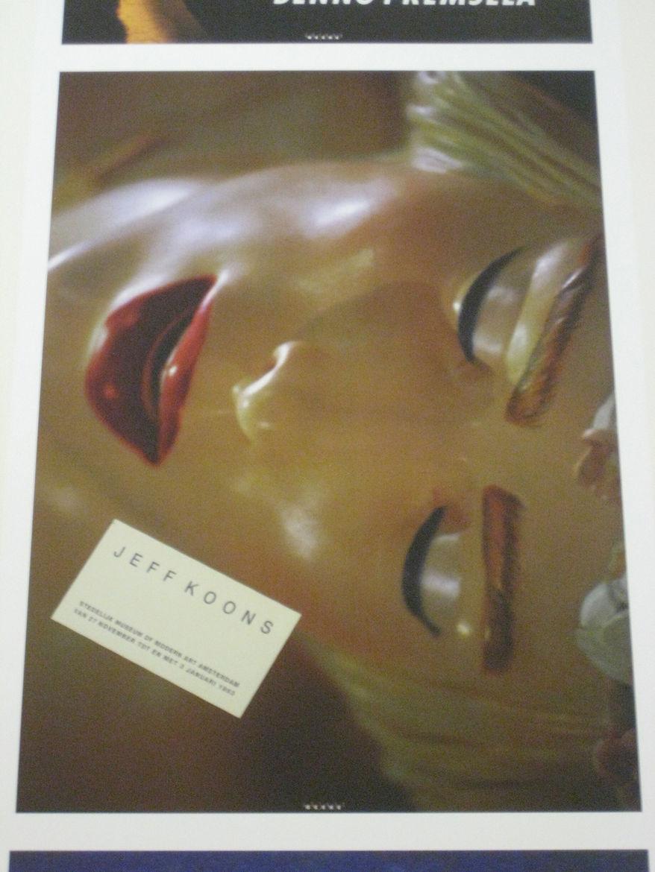 "Anthon Beeke (b. 1940 Amsterdam). Poster for ""Jeff Koons,"" 1992."