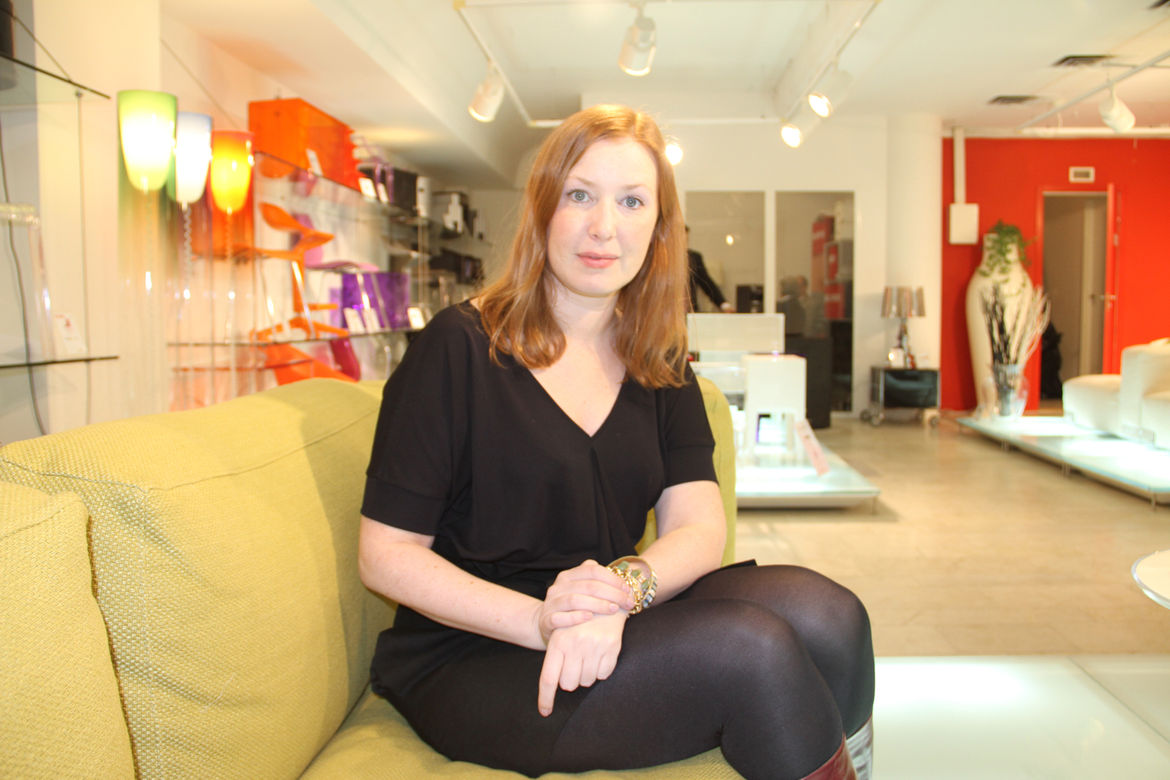 """Anna Lindgren, one third of the Swedish design group <a href=""""http://www.designfront.org/news.php"""">Front</a>. She, along with partners Sofia Lagerkvist and Charlotte von der Lancken, created the <a href=""""http://www.designfront.org/news-single.php?id=109&p"""
