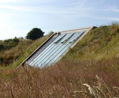 cumbria earth-sheltered house