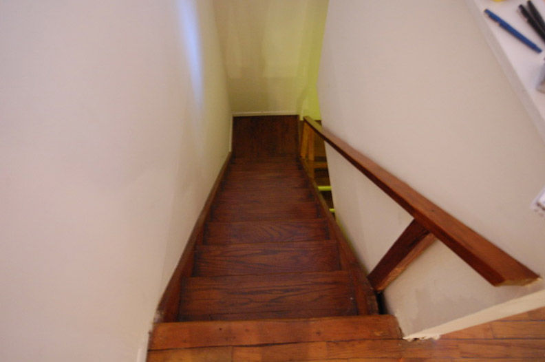 The original staircase.