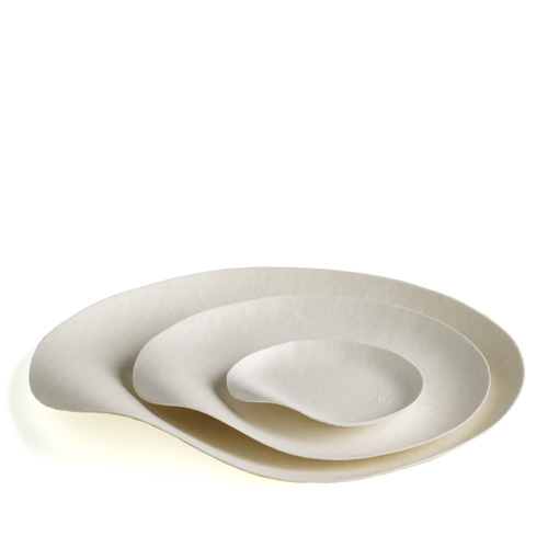 The plates come in three sizes, small, medium, and large.