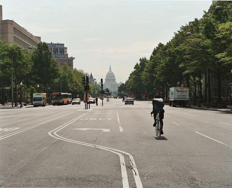 Pierre L'Enfant's city plan adores grand vistas, like this one on Pennsylvania Avenue NW.