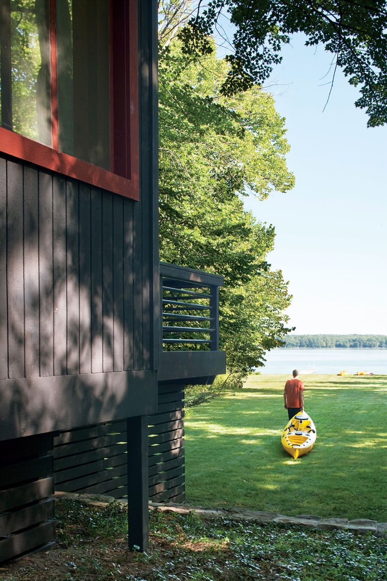 cottage renovation in benzie county, michigan