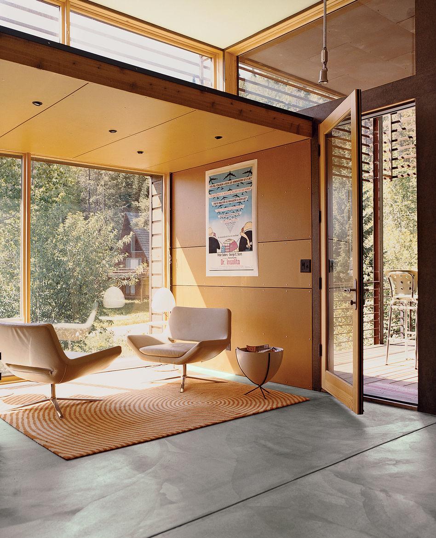 B&B Italia chairs in Jackson, Wyoming