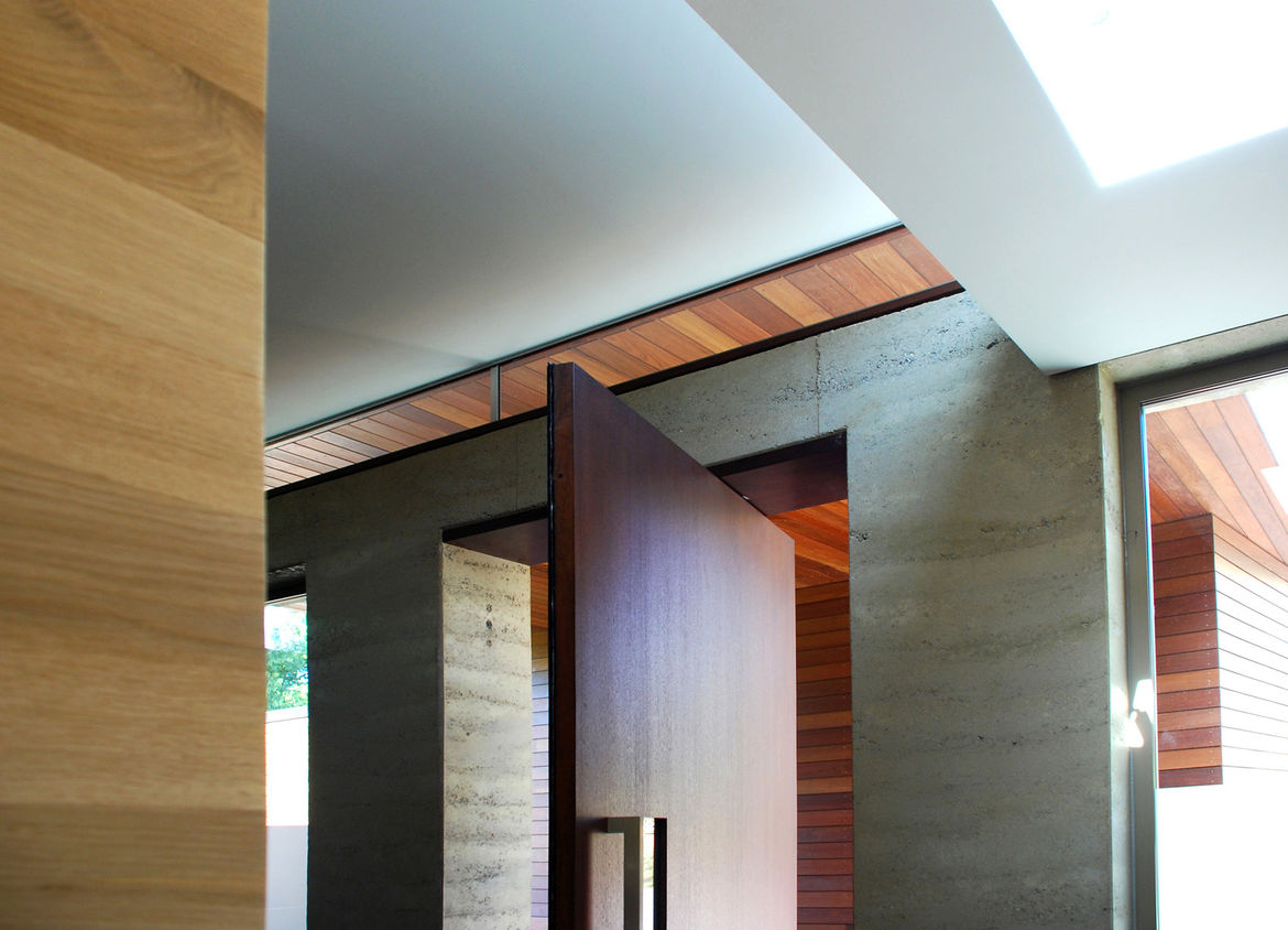 """A significant part of the design was its execution, which was carried out by general contractor <a href=""""http://www.kwelton.com/"""">Kirk Welton</a>. """"The details are so tight,"""" says Smith, who remarked that the finished details were exactly as drawn or even"""