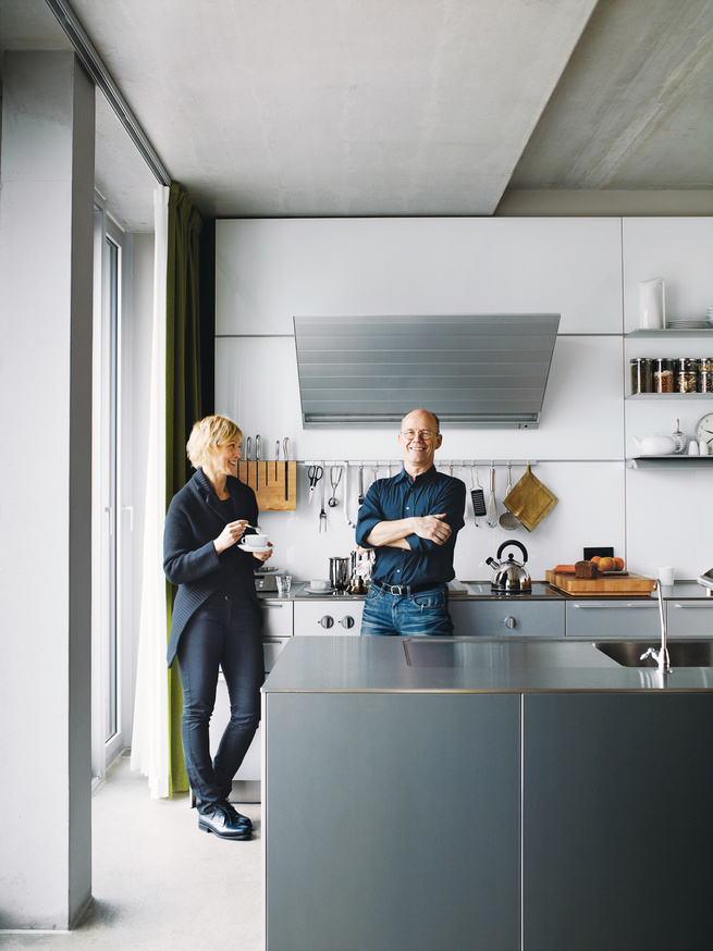 Spiekermann and Dulkinys agree that their house—the first they've built from the ground up—is definitely different.