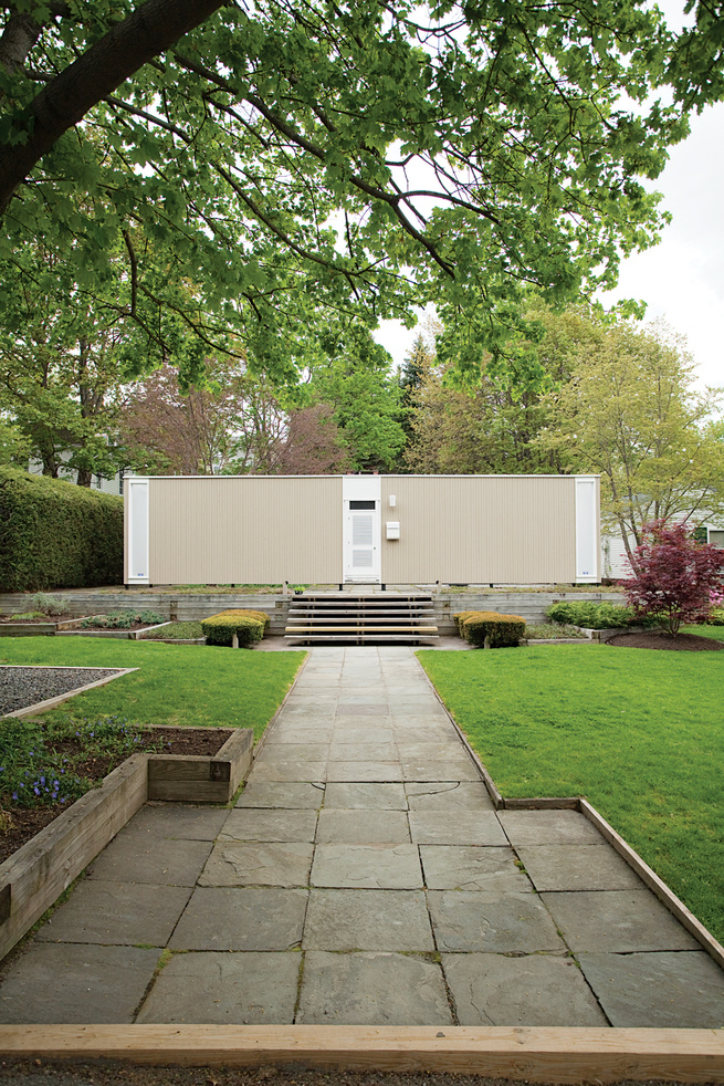 At age 34, Phillip M. Isaacson commissioned architect F.Frederick Bruck to design a home for him and his wife. That was 1959. Five decades later, he still lives in his ideal home--and very little has changed.