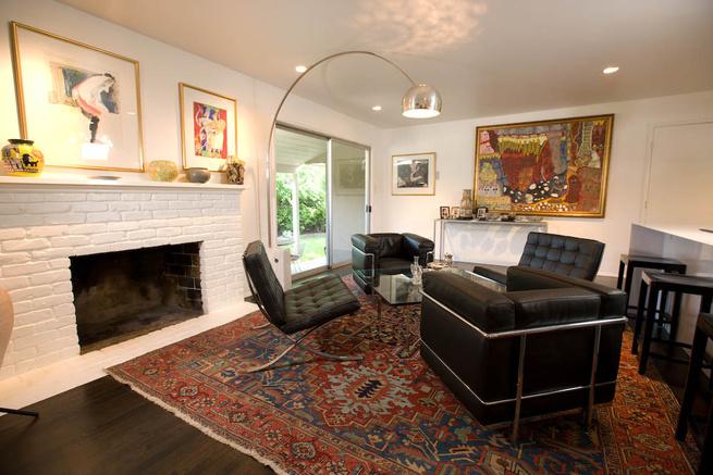 Sacramento apartment, living room
