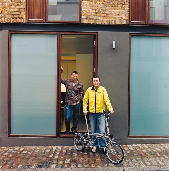 London facade bike