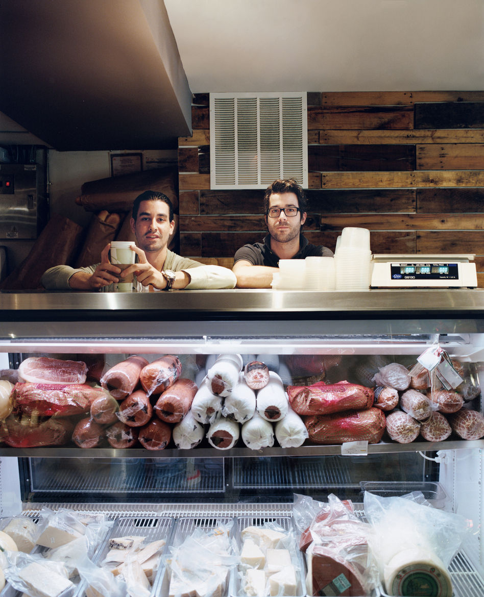 Casey Patten and David Mazza are most frequently found behind the counter of their Washington, DC, deli, Taylor Gourmet. When the friends and business partners aren't slaving over chicken cutlets or slicing prosciutto, they take in the urban views from th