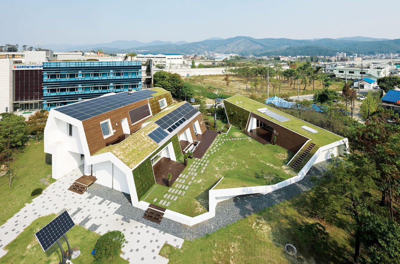 Green home in Seoul, South Korea