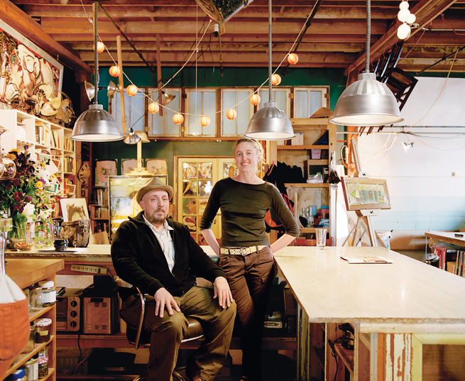 The Fisch Haus collective, a studio-gallery-home in downtown Wichita, Kansas