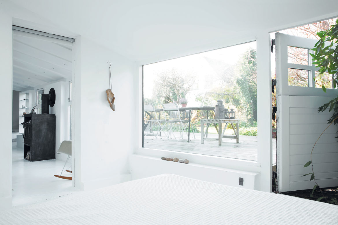 guest room transformation with a scenic view