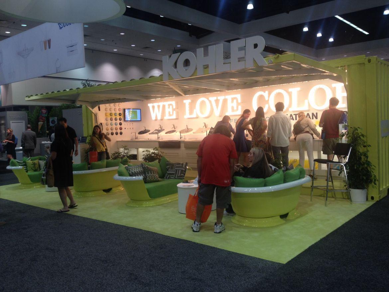 Kohler booth at Dwell on Design 2012
