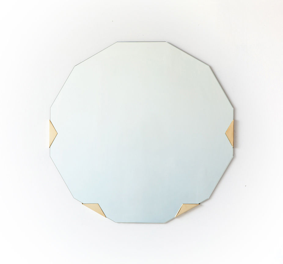 Modern Haynes mirror by Brooklyn design studio Egg Collective