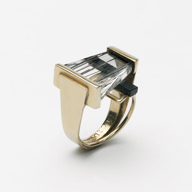 modernist jewelry designer margaret de patta ring