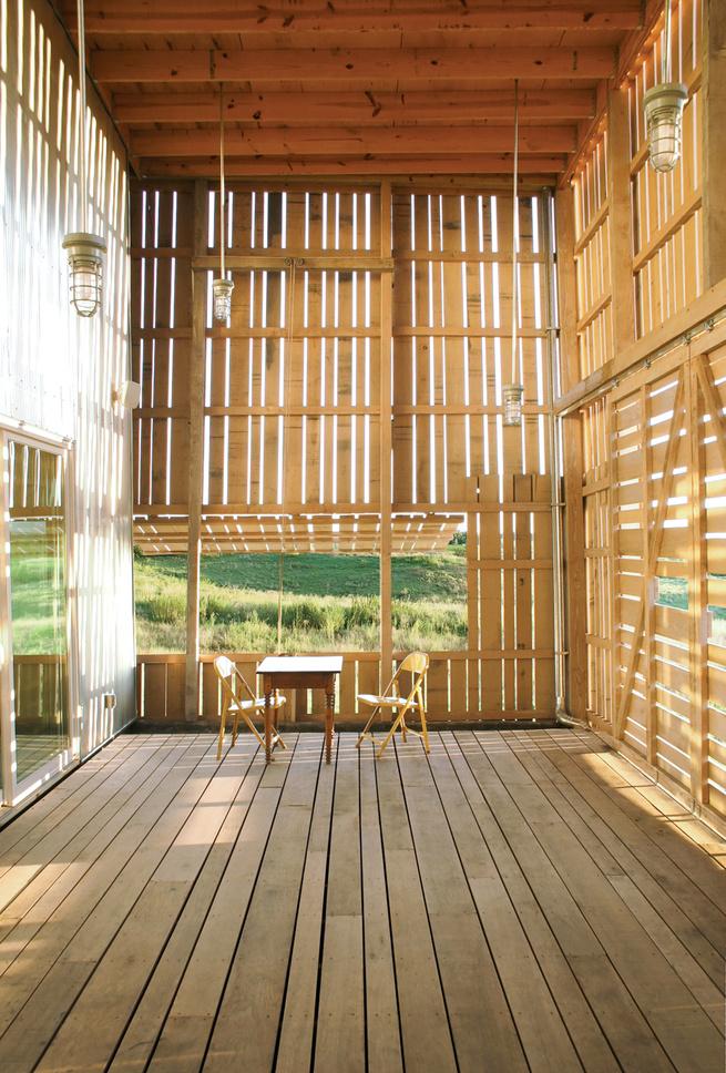 Rustic modern farmhouse interior