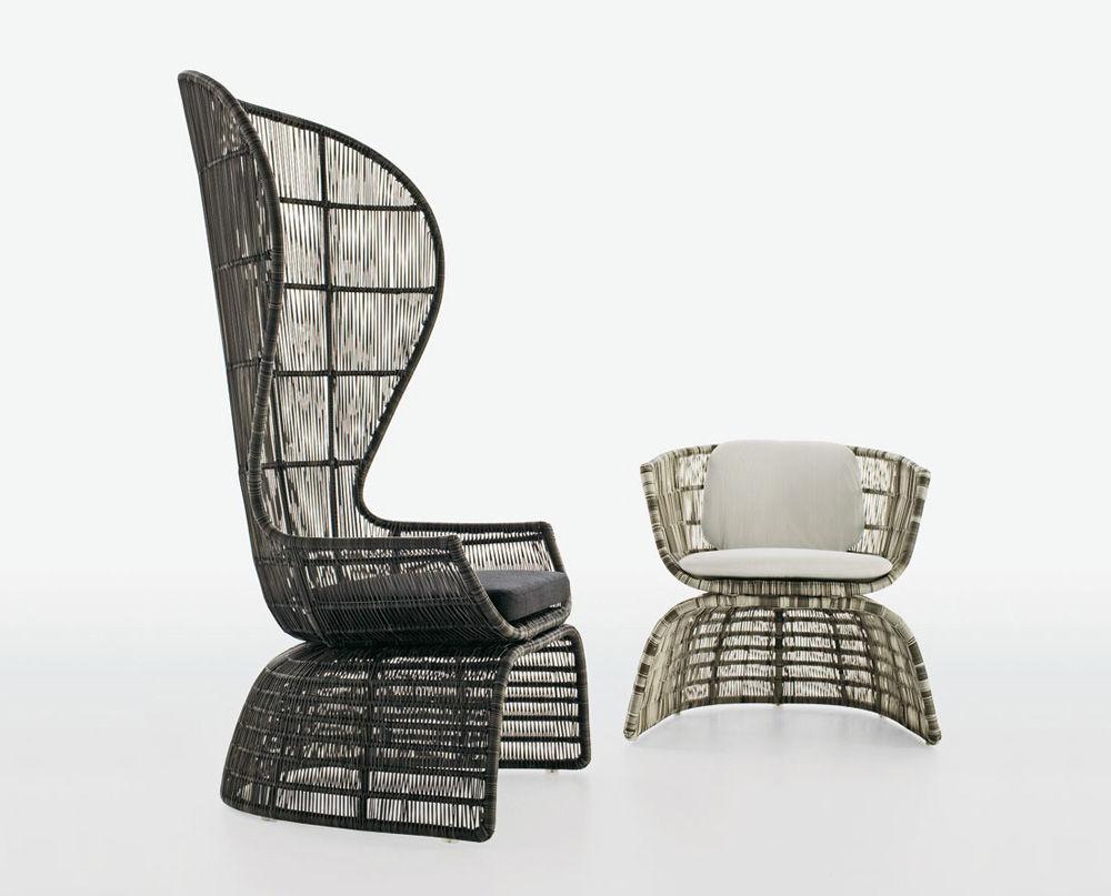 Crinoline Chair by Patricia Urquiola for B&B Italia