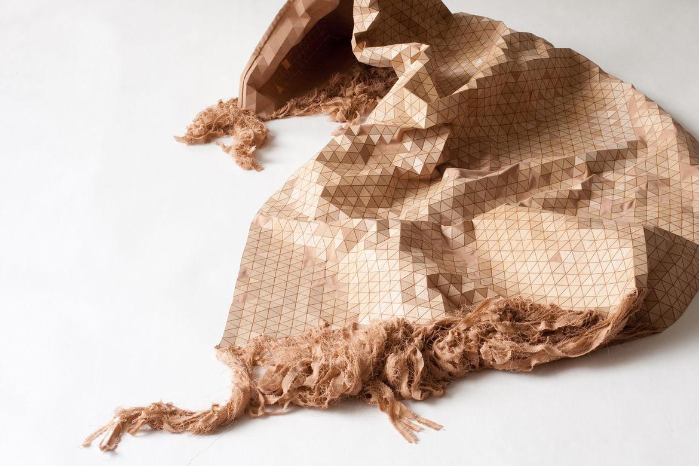 Wooden Carpet by Elisa Strokyk