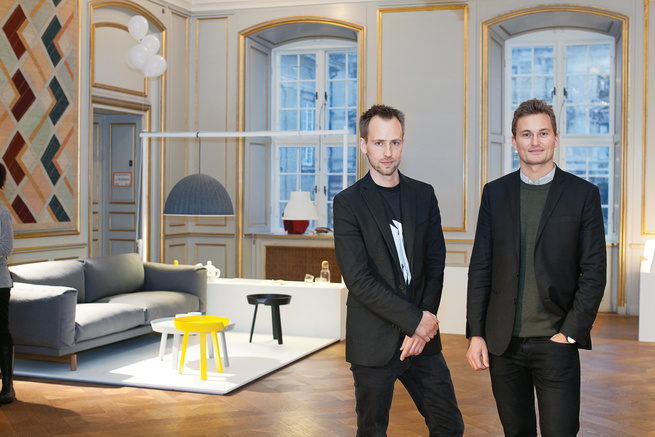 Peter Bonnen and Kristian Byrge of Muuto