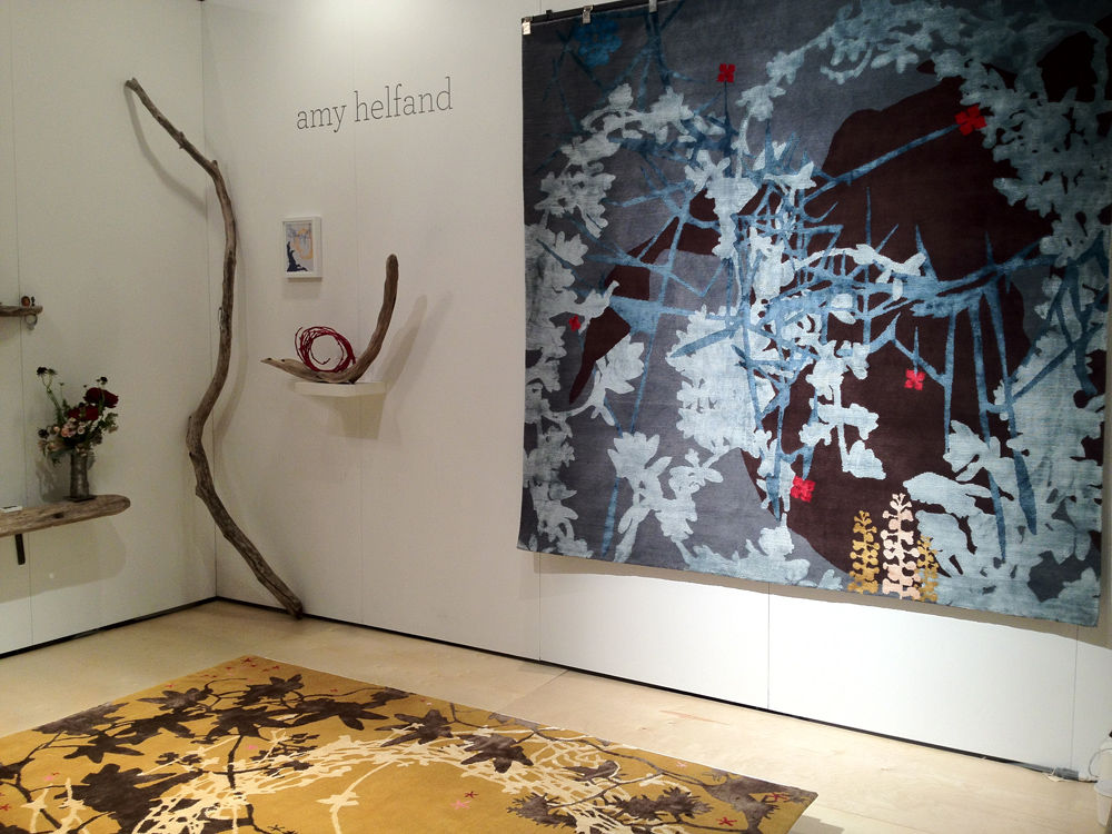 Rugs by Amy Helfand at ICFF 2012