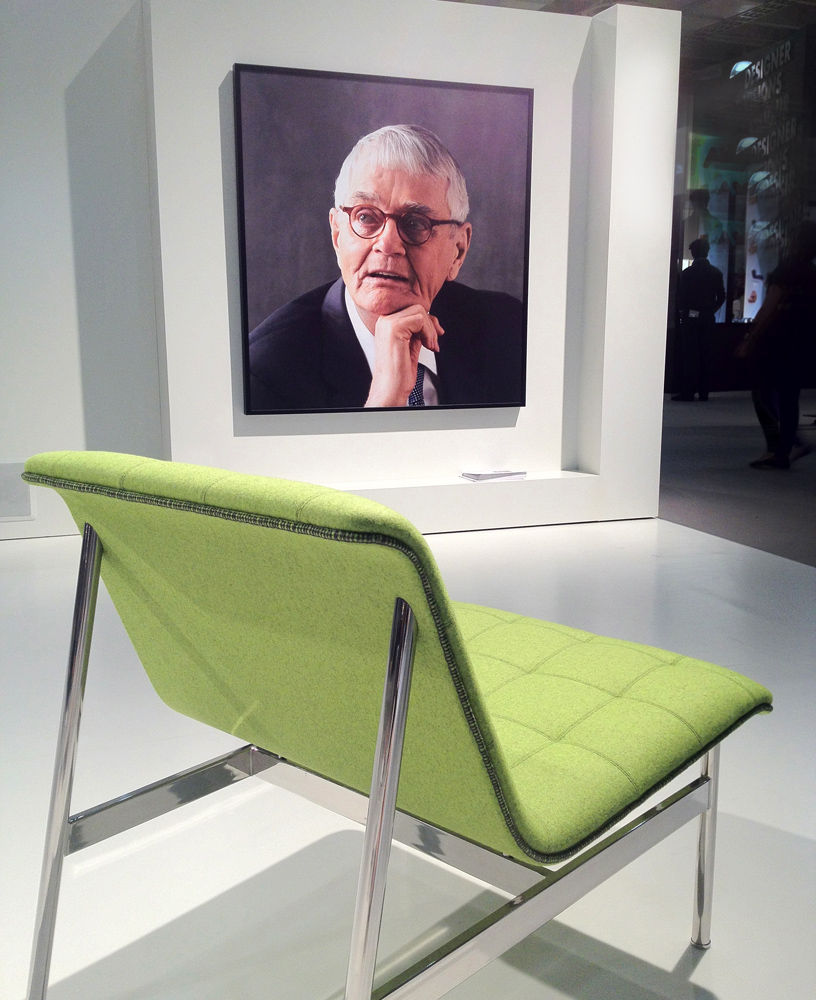 Charles Pollack chair at ICFF 2012