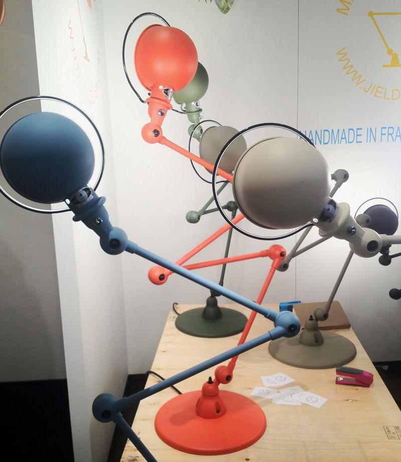 Matte lamps by Jielde at ICFF 2012