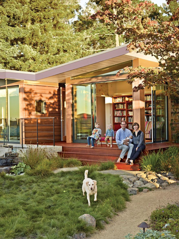 Modern 1950s Esherick home