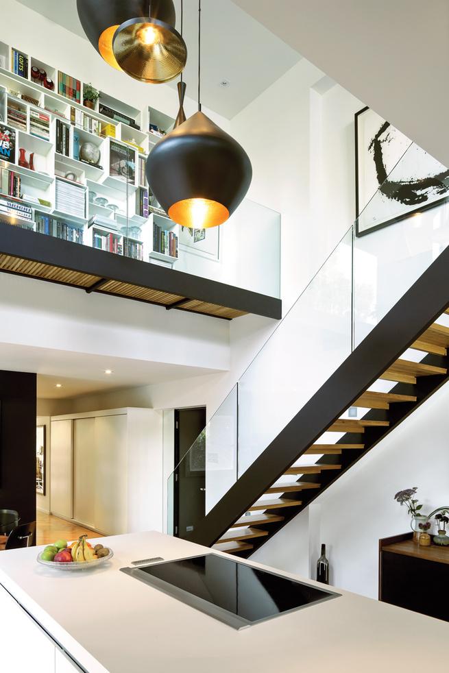 A renovated apartment in Habitat '67
