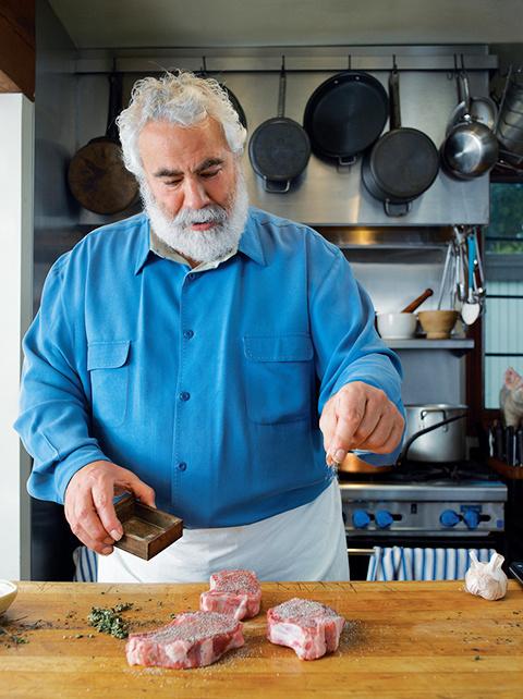Chef Bruce Aidells portrait