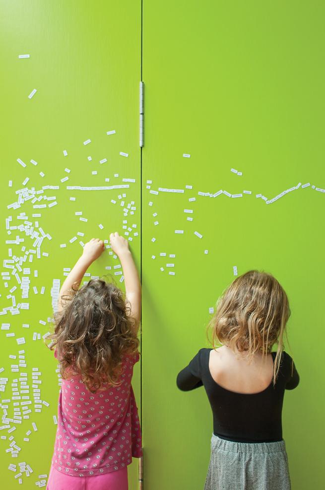 Green magnet wall