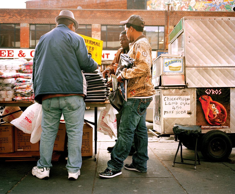 New York City street food truck scene