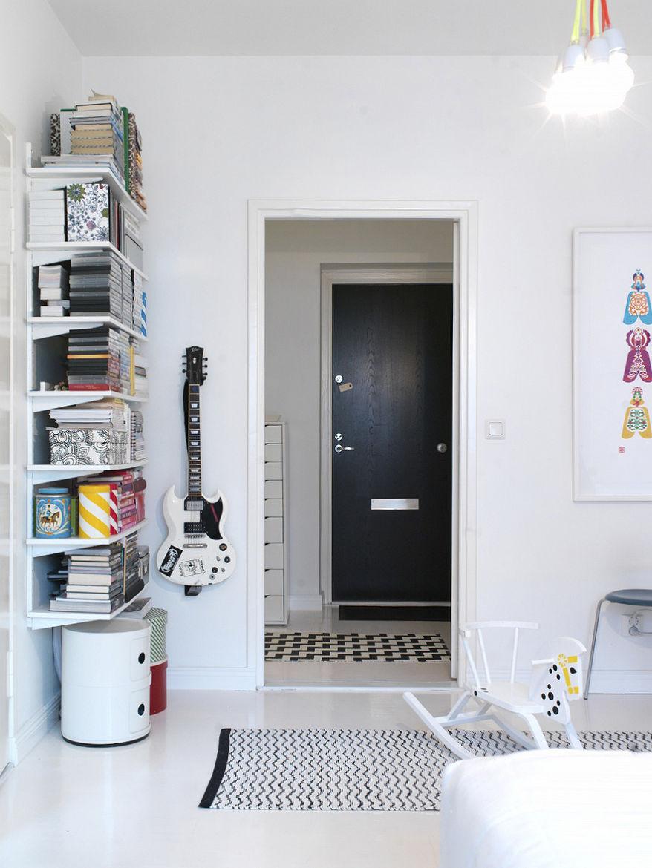 Hallway view of master bedroom