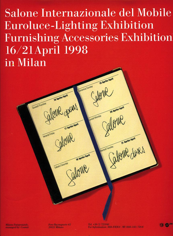 Salone Internazionale del Mobile 1998 poster