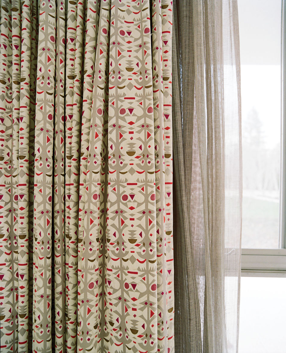 Curtains designed by Alexander Girard