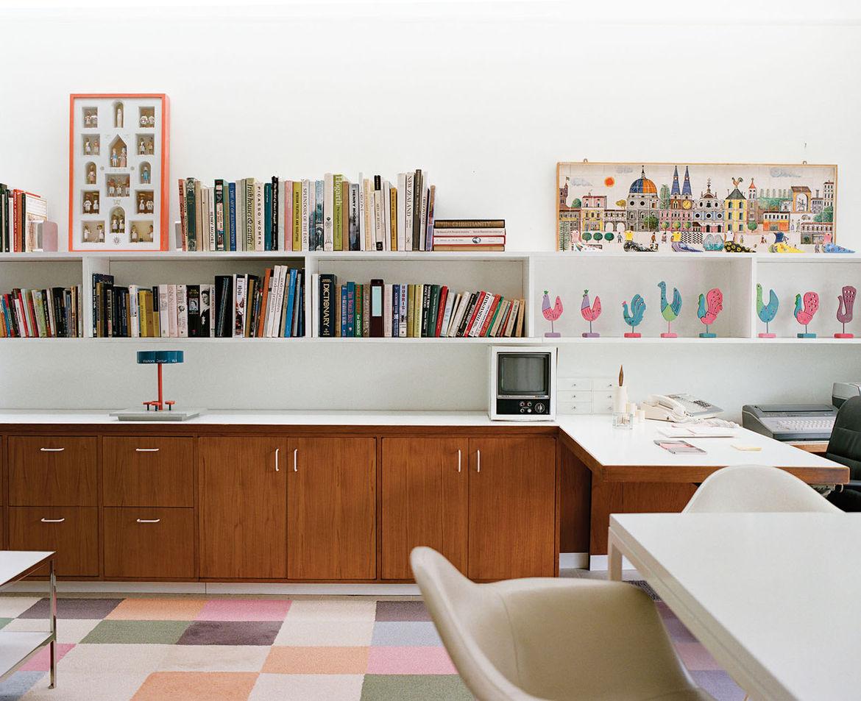 Miller House office room