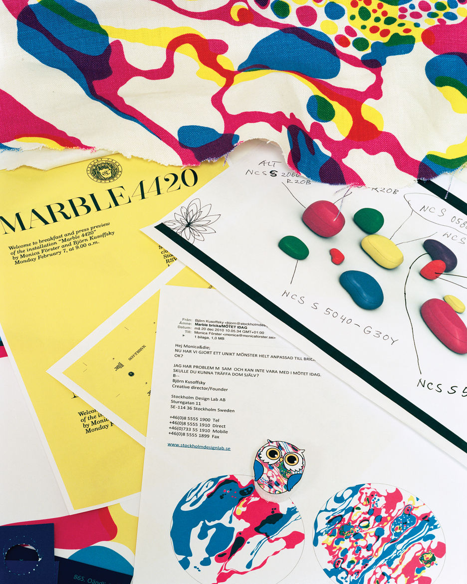 Monica Forster and Björn Kusoffsky exhibition and film about Josef Frank fabrics