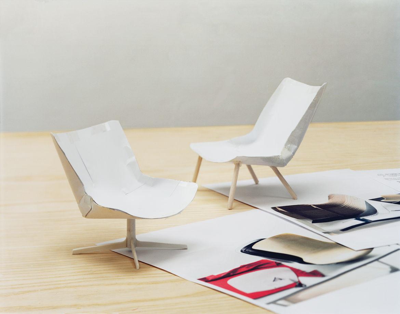 Monica Forster's Vika Chair paper model