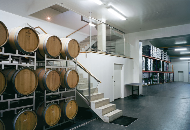 Erich Sattler Winery in Tadten, Austria