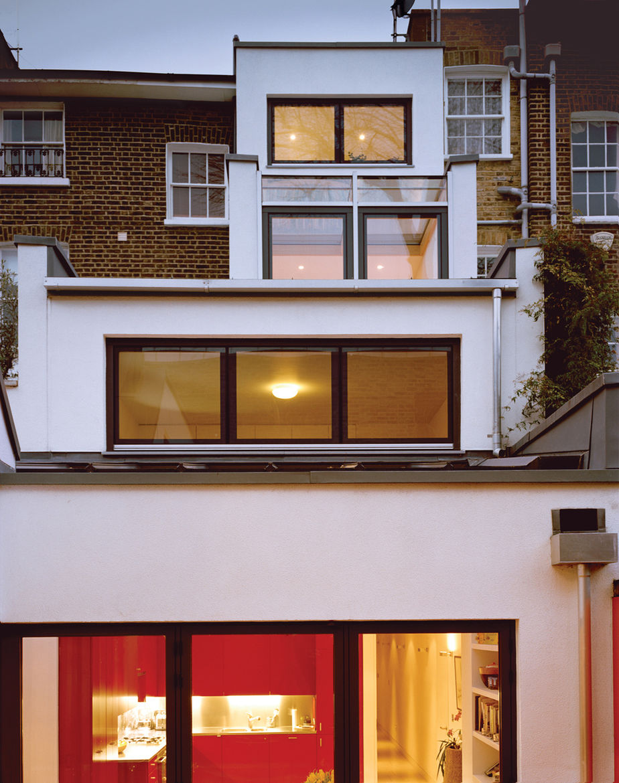 Tozer residence exterior back facade