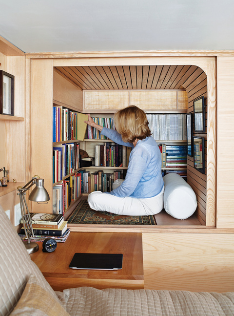 Wood works book cabinet