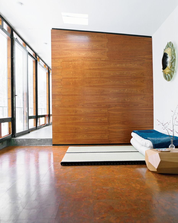Wooten interior sleeping area