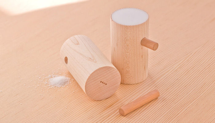 Pinocchio Salt and Pepper Shakers by OKUM Made