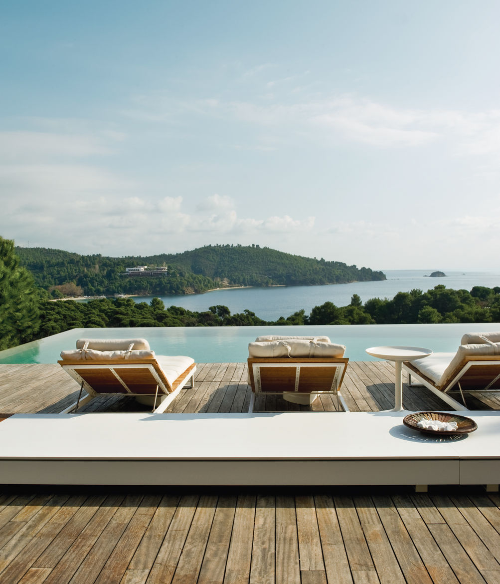 plane house greece outdoor furniture
