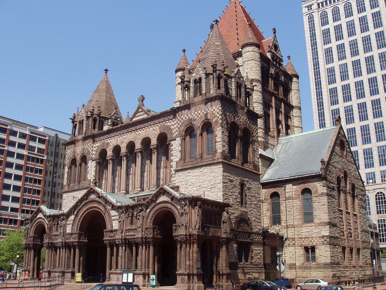 Trinity Church in Boston, Massachussetts