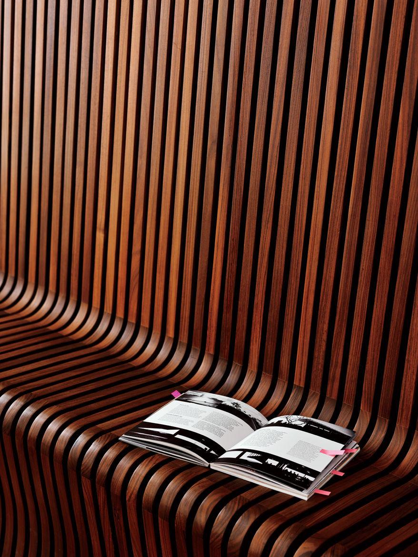 Wooden Siefert bench