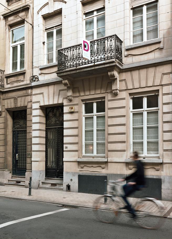 Neoclassical modern home in Belgium