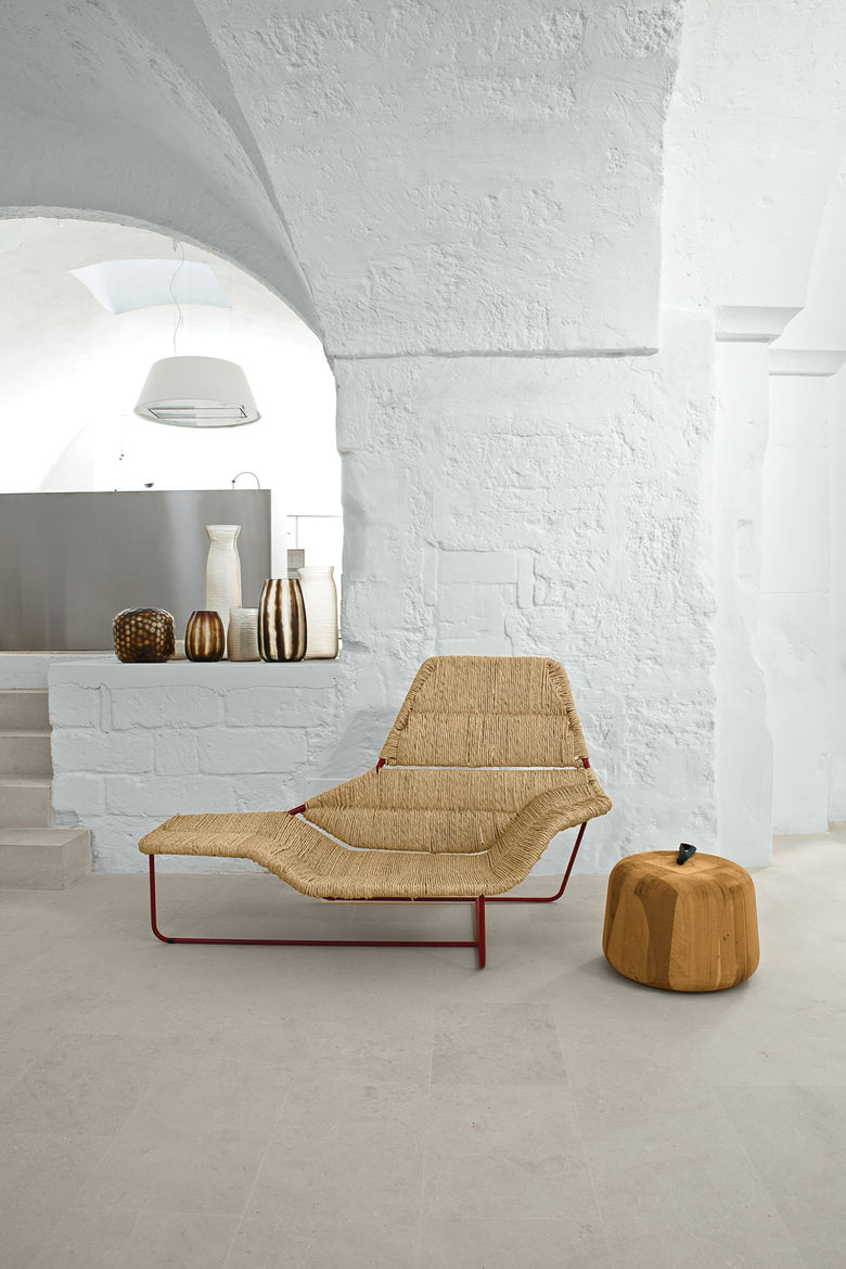 Modern living room with furniture by Ludovica + Roberto Palomba.